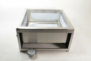 Ace Se2424fm Stainless Steel Floor Mount Mop Sink Preowned