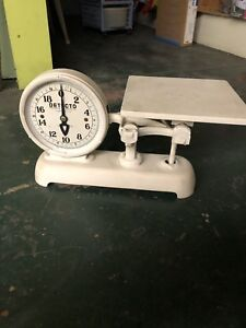 Vintage Detecto Hardware Store Counter Double Faced Scale Series 26 S