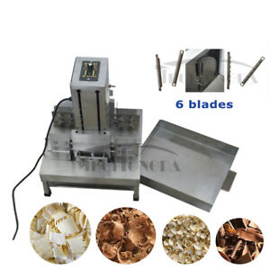 Commercial Chocolate Block Cutting Shaving Machine Chocolate Slice