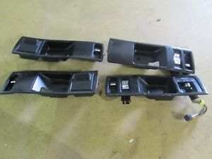 95 96 1994 1995 1996 Impala Ss Caprice Black Drivers Door Panel Bezel Switch Set