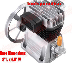 3 Hp Belt Driven Aluminum Air Compressor Pump Replacement