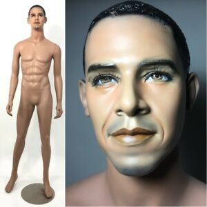 Barack Obama Mannequin Black African American Male Full Size Realistic