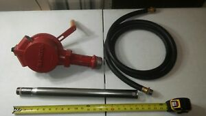 Tuthill Fill Rite Fr112 Rotary Style Hand Crank Fuel Transfer Pump 10 Gpm
