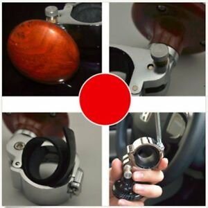 Auto Car Power Steering Wheel Ball Suicide Spinner Handle Knob Booster Retro Xp