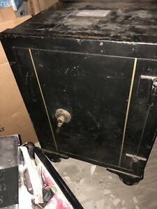 Antique Reliable Floor Safe 40 Inches