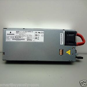 Emerson Ds1100ped 3 Ac dc Converter Network Rack Mount Power Supply