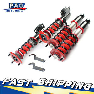 New Fits Honda Civic Em2 2001 2005 Ex Dx Coilover Suspension Spring Struts Shock