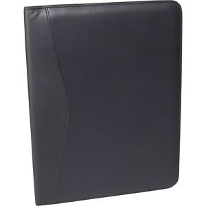 Leather Writing Pad Folio 745 blue 5 Blue By Royce Leather