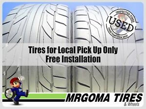 2 Nitto Nt555 G2 Xl 275 40 19 Used Tires 8 32 No Patch Mercedes Bmw 105w 2754019