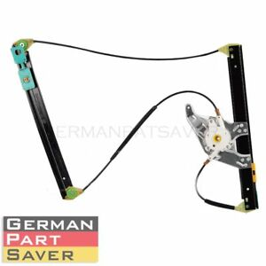 New Power Window Lifter Regulator Front Driver Left Side For Audi A6 4b0837461