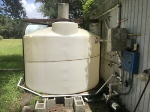 Vertical Water chemical Tank 1550 Gallon