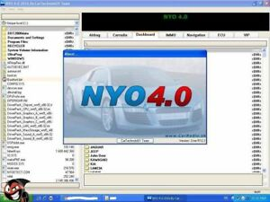 New 2017 Nyo4 Full Version Software Immo Odometer Radio Ecu Airbag