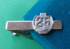 Vintage Gm General Motors 25 Years Suggestion Plan Tie Clasp Bar Clip Chevy