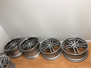 Ssr Gt 10 19 Racing Wheels For Porsche 911 Turbo 997 Chassis Rare