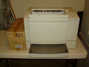 Minolta Msp 3000 Microfilm Laser Printer With New Toner imaging Unit