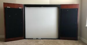 Must Sell Kimball Office Visual Board projector Screen white Board pin Boards