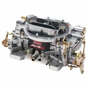 Edelbrock 1905 Avs2 Series Manual Choke 600 Cfm Square Bore