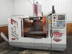 Haas Vf 3 1999 Tsc Video Cnc Thru Spindle Coolant Vertical Machining Center Mill