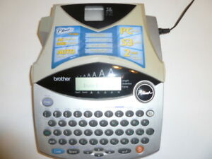 Brother P touch Pt 1960 Label Thermal Printer With Power Cable