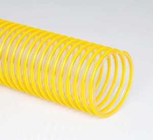 Clear Flexible Dust Collection Hose Flex tube Pu 8 Idx 25 Urethane Hose