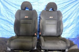 2007 07 Honda Civic Si Coupe K20z3 Oem Factory Lh Rh Front Seat Pair 9274