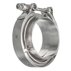 Hfs r Stainless Steel 304 Quick Release V band Turbo Downpipe Clamp 1 75inch