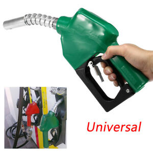 1pcs Automatic Refuelling Nozzle Diesel Oil Petrol Dispensing Fuel Transfer Grn