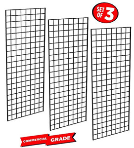 Only Garment Racks 1898blk 3pcs Only Garment Racks Commercial Grade Gridwall