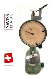 Tesa Compac Pag Grenchen Swiss Gauge Holder Test Indicator Indicator Stand 2