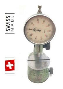 Tesa Compac Pag Grenchen Swiss Gauge Holder Test Indicator Indicator Stand 3