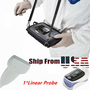 Pro Human Digital Ultrasound Scanner Diagnostic Machine Linear box oximeter Us
