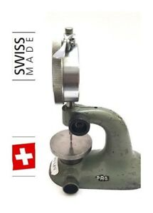 Tesa Compac Pag Grenchen Swiss Gauge Holder Test Indicator Indicator Stand 4