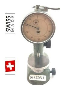 Tesa Compac Pag Grenchen Swiss Gauge Holder Test Indicator Indicator Stand 5