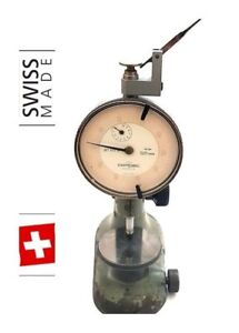 Tesa Compac Pag Grenchen Swiss Gauge Holder Watchmakers Indicator Stand 8