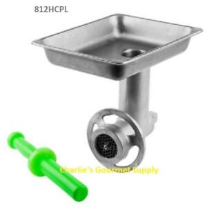 Meat Grinder Attachment 12 Hub Tin plated Uniworld 812hcpl Fit Hobart More
