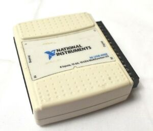 National Instruments Usb 6008 Data Acquisition Card Ni Daq Multifunction