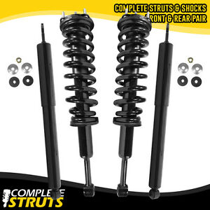2007 2013 Toyota Tundra Front Quick Complete Strut Rear Shock Absorber Bundle