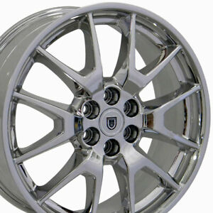 20 Rims Fit 6 lug Cadillac Saab Cadillac Srx Chrome Wheels 4709