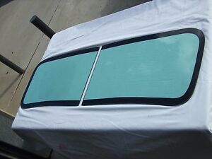 1941 Chevy Truck V Butt Windshield With Black Out Surround Installation Kit