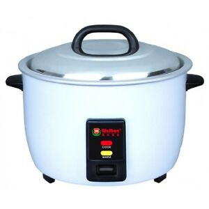 30cups raw Rice 60cups cooked commercial Rice Cooker With Nonstick Heavy Dutyinn