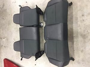 2008 2009 Dodge Caliber Srt 4 Complete Rear 2nd Row Seat Leather And Cloth Nice