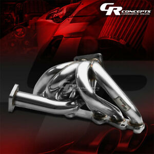 For 86 92 Toyota Supra 1jz ge gte T4 Stainless Racing Turbo Charger Manifold Kit