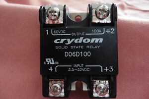 D06d100 1 Piece Crydom Solid State Relay