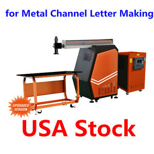 Us Stock Ving 400w Yag Laser Welding Machine For Metal Channel Letter Making