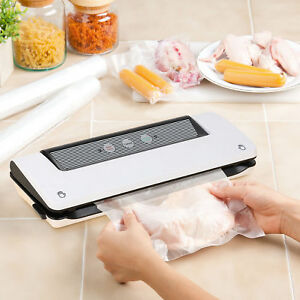 Vacuum Sealer 3 In 1 Food Free Bag Roll Starter Kit For Food Preservation Saver