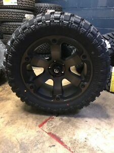 20x9 Fuel D564 Beast Ddt 33 Mt Wheel Tire Package 6x5 5 Chevy Suburban Tahoe