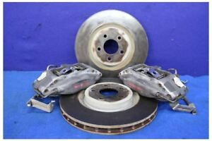 2005 2014 Ford Mustang Track Pack 4 Piston Brembo Calipers Brakes Rotors Oem