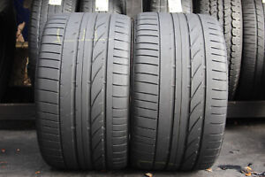 Set Of Two Bridgestone Potenza Re0501a 305 30r19 102y N o Tires