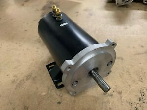 New Motor For Snoway V Box Electric Salt Spreaders In Stock Fast Shipping