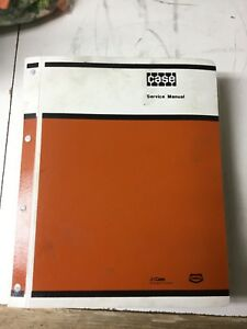 Case W20b Wheel Loader Service Repair Shop Binder
